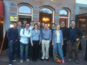 H0LiCOW group in Leiden for the GravLens 2016 meeting